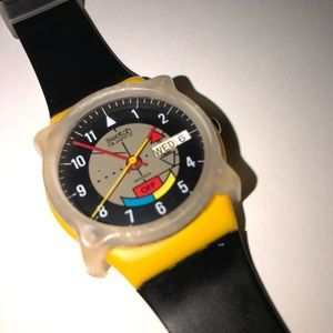 RAD 1985 YAMAHA RACER SWISS SWATCH WATCH